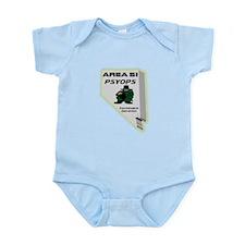 Area 51 Psyops Infant Bodysuit