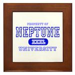 Neptune University Property Framed Tile