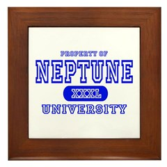 Neptune University Property Framed Tile