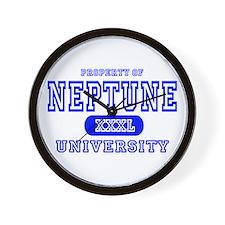 Neptune University Property Wall Clock