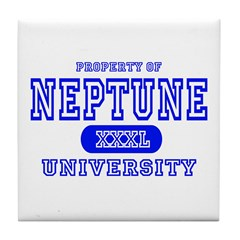 Neptune University Property Tile Coaster