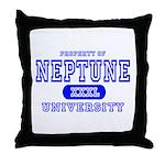 Neptune University Property Throw Pillow