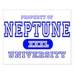 Neptune University Property Small Poster