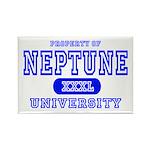 Neptune University Property Rectangle Magnet