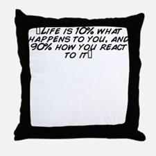 Cool Happens Throw Pillow