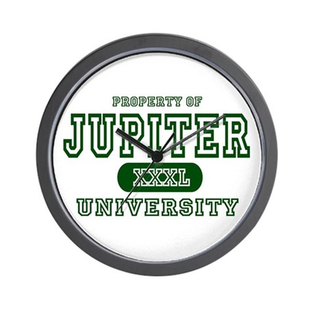 Jupiter University Property Wall Clock