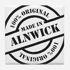 Made in Alnwick Tile Coaster