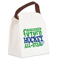 Future Hockey All Star Boy Canvas Lunch Bag
