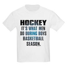 Hockey What Men Do T-Shirt