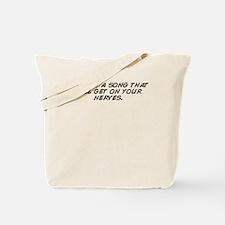 Funny I know Tote Bag