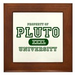 Pluto University Property Framed Tile