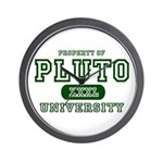 Pluto University Property Wall Clock