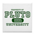 Pluto University Property Tile Coaster
