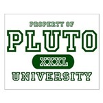 Pluto University Property Small Poster
