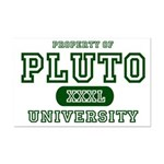 Pluto University Property Mini Poster Print