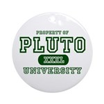 Pluto University Property Ornament (Round)