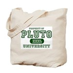 Pluto University Property Tote Bag