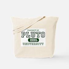 Pluto University Property Tote Bag