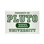 Pluto University Property Rectangle Magnet (10 pac