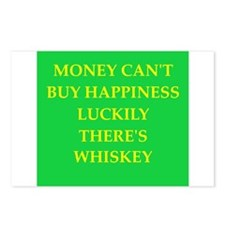 whiskey Postcards (Package of 8)