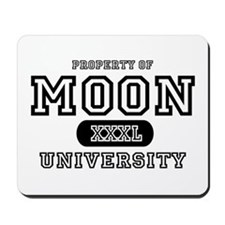 Moon University Property Mousepad