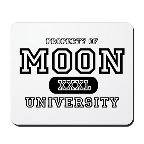 Moon University Property Mousepad