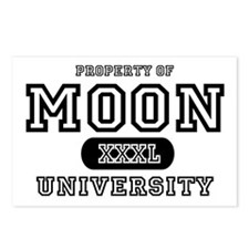 Moon University Property Postcards (Package of 8)