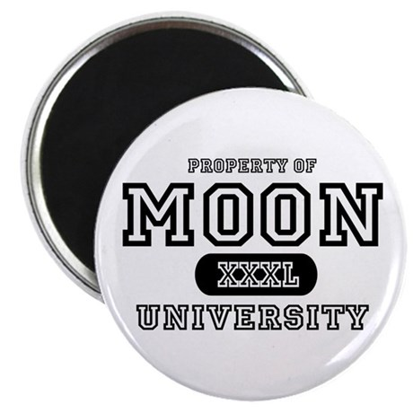 "Moon University Property 2.25"" Magnet (10 pack)"