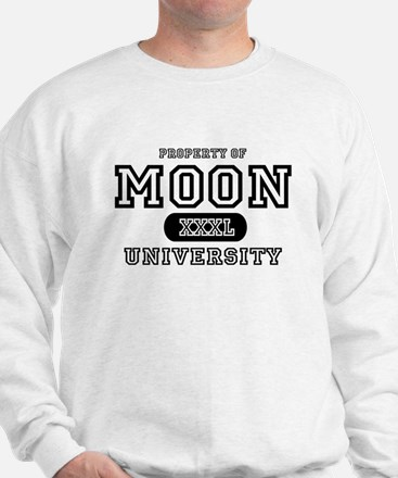 Moon University Property Sweatshirt