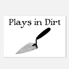 PLAYS IN DIRT Postcards (Package of 8)