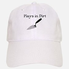 PLAYS IN DIRT Baseball Baseball Cap