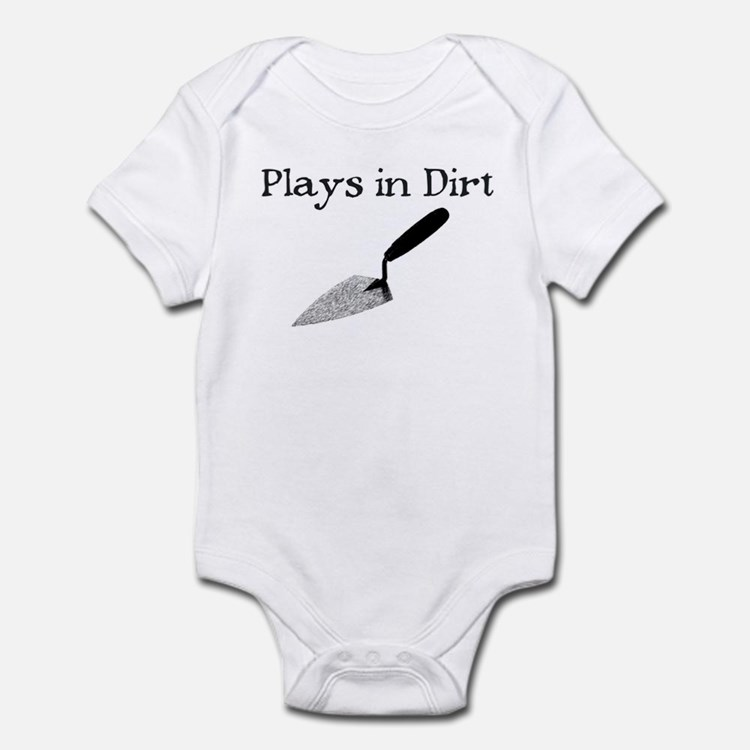 PLAYS IN DIRT Onesie