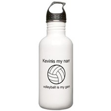 Volleyball Is My Game Sports Water Bottle