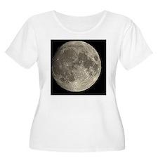 Waxing gibbous Moon - T-Shirt