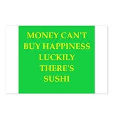 sushi Postcards (Package of 8)
