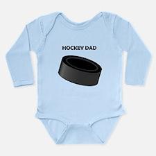 Hockey Dad Long Sleeve Infant Bodysuit