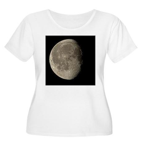 Waning gibbous Moon - Women's Plus Size Scoop Neck