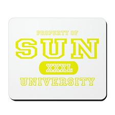 Sun University Property Mousepad