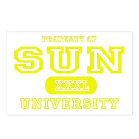 Sun University Property Postcards (Package of 8)