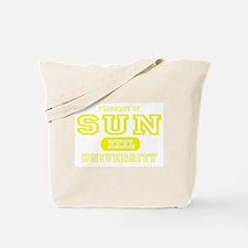 Sun University Property Tote Bag