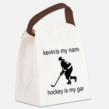 Hockey Is My Game Canvas Lunch Bag