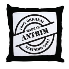 Made in Antrim Throw Pillow