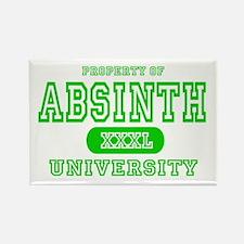 Absinth University Rectangle Magnet