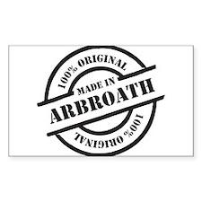 Made in Arbroath Decal