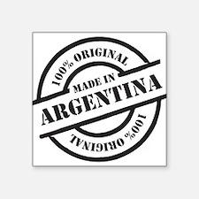 "Made in Argentina Square Sticker 3"" x 3"""