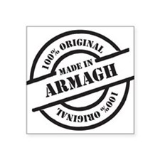 """Made in Armagh Square Sticker 3"""" x 3"""""""