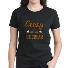 Crazy About Ice Cream Tee