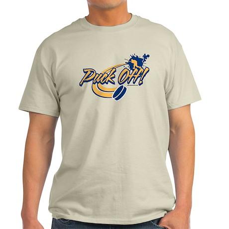 Hockey Puck Off Light T-Shirt