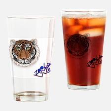 Tiger - ZooWhirlz Drinking Glass