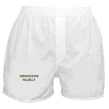 Sophisicated Hillbilly Boxer Shorts